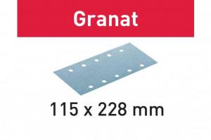 Foaie abraziva STF 115X228 P180 GR/100 Granat