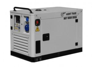 Generator diesel de curent, insonorizat AGT 10001 DSEA