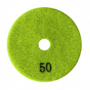 Paduri / dischete diamantate pt. slefuire uscata #50 Ø100mm - DXDY.DRYPAD.100.0050