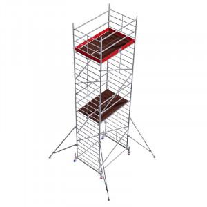 Schela aluminiu Protec XXL 1,2 x 2m, aluminiu, inaltime lucru 8,3m
