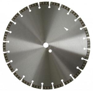 Disc DiamantatExpert pt. Beton armat - Turbo Laser 350x25.4 (mm) Profesional Standard - DXDH.2017.350.25