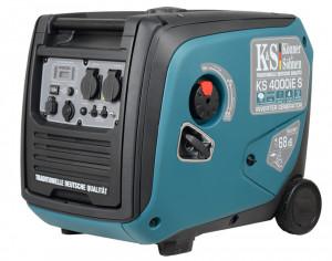 Generator de curent 4 kW inverter - benzina - insonorizat - Konner & Sohnen - KS-4000iE-S