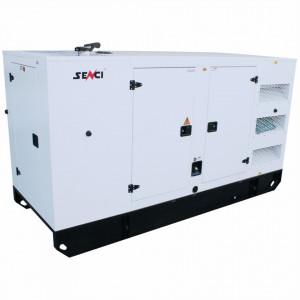 Generator de curent Insonorizat Senci SCDE 187YCS, Putere max. 150kW, ATS si AVR inclus