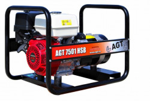 Generator de curent monofazat 6.4kW, AGT 7501 HSB