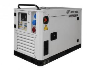 Generator diesel de curent, insonorizat AGT 12003 DSEA