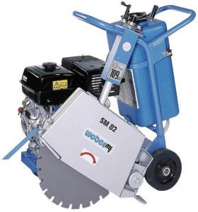 Masina de taiat asfalt beton Weber SM 82-3 Honda GX390-11.2 CP