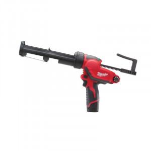 Pistol aplicare Milwaukee silicon cu acumulatorMODEL M12 PCG/310C-201B, 310ML