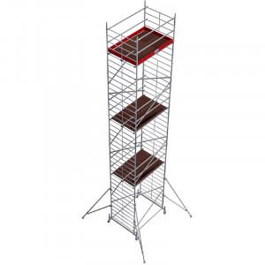 Schela din aluminiu Protec XXL 1,2 x 2m, aluminiu, inaltime lucru 11,3m