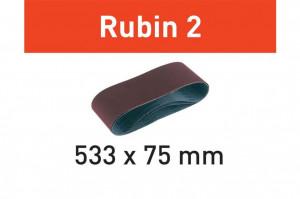 Banda abraziva L533X 75-P120 RU2/10 Rubin 2