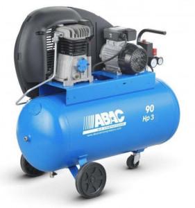 Compresor de aer Debit 320 l/min, Rezervor 90l Abac A29B 90 CM3