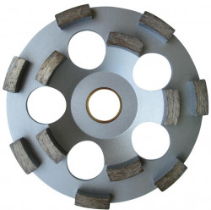 "Cupa diamantata rand dublu ""dinti scurti"" - Beton pt. Festool/Protool 130mm Profesional Standard - DXDH.4207.130.25"