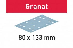 Foaie abraziva STF 80x133 P80 GR/50 Granat
