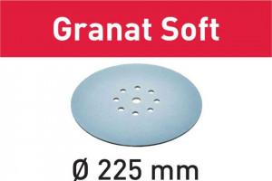 Foaie abraziva STF D225 P120 GR S/25 Granat Soft