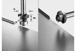 Freza de rotunjit S8 HW R2 D20-KL OFK