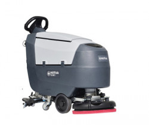 Masina de frecat / aspirat impinsa cu alimentare pe baterii, cu sistem Ecoflex SC401B Full, 430mm, 30 litri - Nilfisk-9087390020