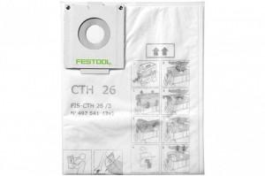 Sac de filtrare de siguranta FIS-CTH 48/3