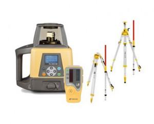 SET Laser rotativ RL-S200 2S, stadie, trepied, senzor laser pentru utilaje LS-B110 - Topcon