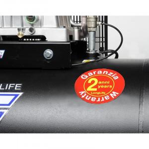 Compresor cu piston INDUSTRIAL FIAC AB100-2MC LONG LIFE butelie 100 litrii