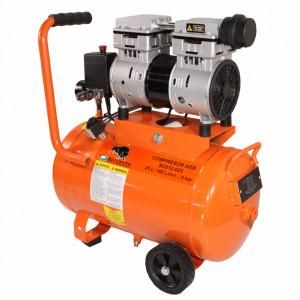 Compresor electric fara ulei Bisonte SC012-025 debit aer 168 l/min., 25 L