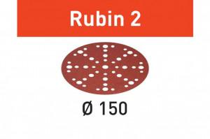Foaie abraziva STF D150/48 P180 RU2/50 Rubin 2