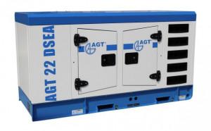 Generator diesel de curent, insonorizat AGT 22 DSEA