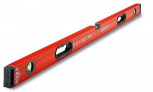 Nivelă cu bula ( Boloboc ) cu profil tubular, 150cm Big RED 3 150 - Sola-1219501
