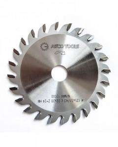 Panza circular tip incizor conic placate cu carbura metalica 100x3.1x22 (Z=20) ASCO TOOLS