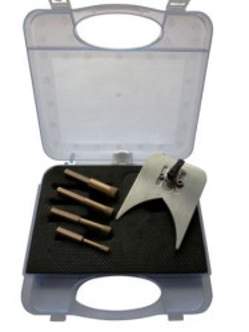 Set carote diamantata pt. gresie portelanata & piatra - diam. 6, 8, 10, 14mm - cu ceara- Super Premium - DXDH.80409.Satz6-14