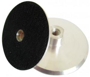 Suport rigid pt. dischete / paduri diamantate cu velcro 125m - prindere M14 - DXDH.23007.125.U-Alu