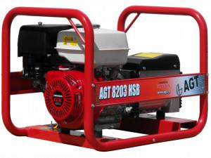Generator de curent trifazat 5.6kW, AGT 8203 HSB
