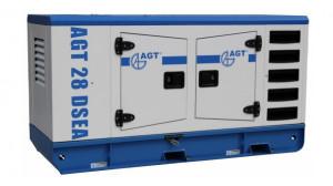 Generator diesel de curent, insonorizat AGT 28 DSEA
