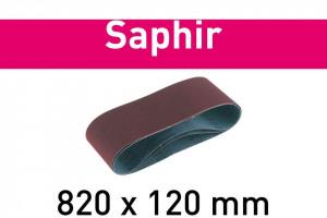 Banda abraziva 820x120-P100-SA/10 Saphir