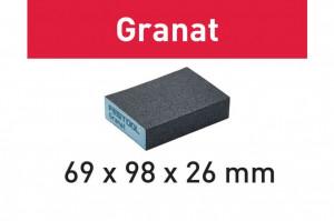 Bloc de şlefuire 69x98x26 120 GR/6 Granat