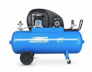 Compresor de aer Debit 320 l/min, Rezervor 200l Abac A29B 200 CT3