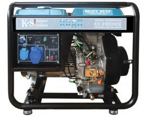 Generator de curent 5.5 kW diesel - Heavy Duty - Konner & Sohnen - KS-6100DE-HD