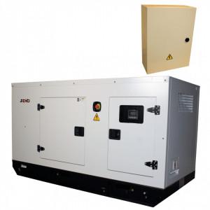 Generator de curent Insonorizat Senci SCDE 34YS-ATS, Putere max. 27 kW, 400V, AVR, ATS