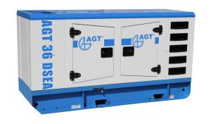 Generator diesel de curent, insonorizat AGT 36 DSEA