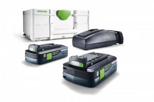 Set acumulatori Festool SYS3 ENG 18V 2xAcumulator BP 18 Li 4,0 HPC-ASI incarcator TCL6