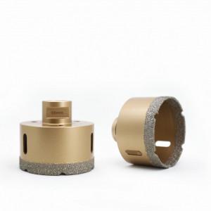 Carota diamantata pentru gresie portelanata si piatra diametru 82mm Diamant Expert