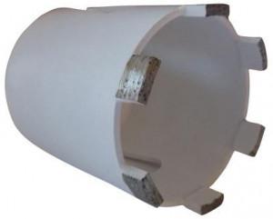Carota diamantata pt. beton armat, zidarie, calcar - 10 segmenti diam. 82mm - Super Premium - DXDH.80117.82.10-WEISS