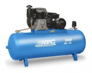 Compresor de aer Debit 930 l/min, Rezervor 500l, 15 bari Abac PRO B7000 500 FT10