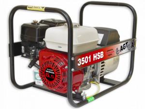 Generator de curent monofazat 3.0kW, AGT 3501 HSB SE