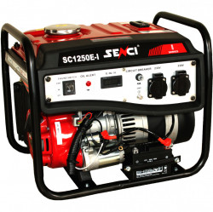 Generator de curent monofazat Senci SC-1250E LITE, Putere max. 1.0 kW