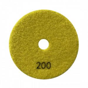 Paduri / dischete diamantate pt. slefuire uscata #200 Ø100mm - DXDY.DRYPAD.100.0200