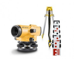 Set Nivela optica AT-B3A + mira TS-50 + trepied SJJ1 - Topcon