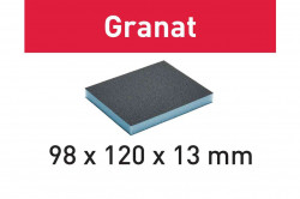 Burete de şlefuit 98x120x13 120 GR/6 Granat