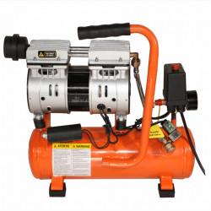 Compresor electric fara ulei Bisonte SC008-009, debit aer 94 l/min., motor 230V