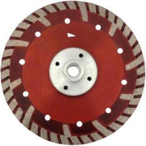 Disc DiamantatExpert pt. Beton armat & Granit - cu flansa 125xM14 (mm) Super Premium - DXDH.2287.125-Flansch
