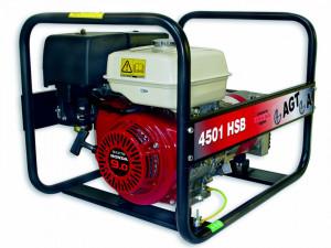 Generator de curent monofazat 4.2kW, AGT 4501 HSB