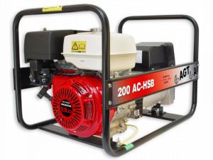 Generator de sudura monofazat 7.0kW, WAGT 200 AC HSB